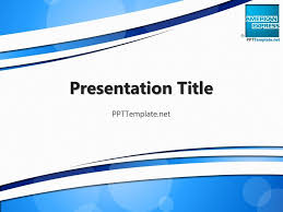 Business Powerpoint Templates Free Free American Express With Logo Ppt Template Business Ppt