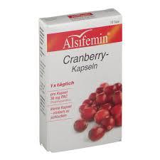 Alsifemin Cranberry Kapseln