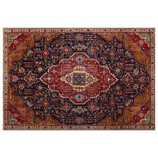 7 6 x 11 2 very unique distressed vintage persian rug with