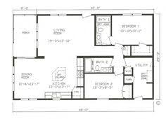 images about Small house plans on Pinterest   Rv garage    Excellent Home Living Open Floor Plan Design Ideas  House Architecture Floor Plans Modular Homes With