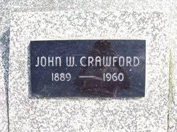John Wesley Crawford (1889-1960) - Find A Grave Memorial