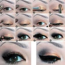 step by step tutorial to apply eye makeup 14