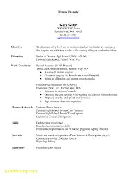Elegant Resume Template Veterinary Assistant Best Templates