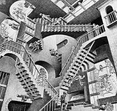 Die eigene beerdigung oder erotische erlebnisse: Das Treppenhaus Nach Escher Wikipedia Und Duchamp Gerda Kazakou