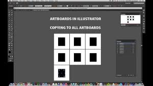Illustrator Cc How To Copy Paths Etc To All Artboards