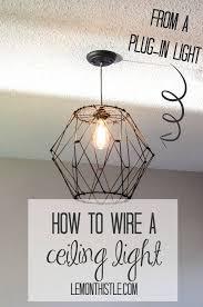 Best 25+ Plug In Chandelier Ideas On Pinterest | Plug In Wall Inside Plugin  Ceiling