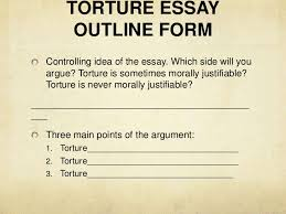 week class ewrt  torture essay