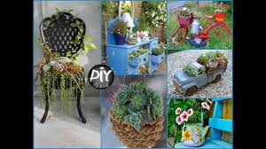 How To Turn Old Things Into Planters and Flower Pots - DIY Plant Pots