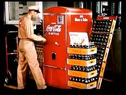 Coca Cola Vending Machine Commercial Enchanting Vintage Coke Promotional Video CocaCola Commercial 48's YouTube