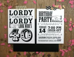free printable 40th birthday invitations for men