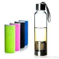 best glass water bottle glass water bottle free high temperature resistant glass sport water bottle with