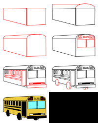 drawing cartoon cars and other vehicles