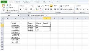 Excel Pattern Matching