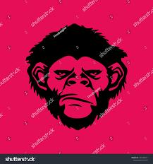 Monkey Graphic Design Monkey Graphic Design Tattoo Ink Wall Stock Vector Royalty