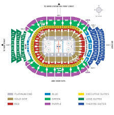 Toronto Maple Leafs Interactive Seating Chart Toronto Maple Leafs Acc Seating Chart Maple Leaf Tickets