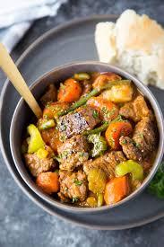 crockpot beef stew simple healthy kitchen