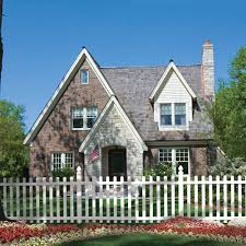 vinyl picket fence front yard. White Spaced Picket Fence Vinyl Front Yard W