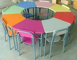 awesome elementary school desk with chairs