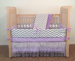 a baby crib beautiful elephant baby bedding purple baby bedding custom baby bedding