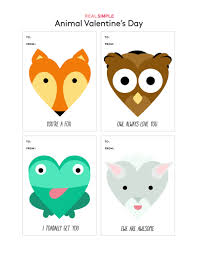 owl valentine s day cards to print. Interesting Valentine Animal Valentineu0027s Day Cards On Owl Valentine S To Print A