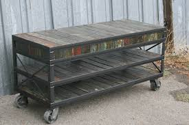 metal industrial furniture. Combine 9 Industrial Furniture Unique Tv Stand Metal N