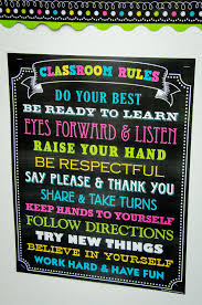 Chalkboard Brights Classroom Rules Chart Chalkboard Brights Classroom Rules Chart Chalkboard