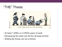 How To Write A Dissertations How To Write A Thesis And Survive The Process
