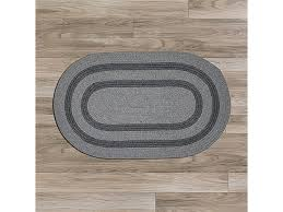 colonial mills gw23r096x096 8 x 8 ft graywood round braided rug gray