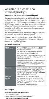Rbc Avion Points Redemption Chart Benefits Guide Rbc Visa Infinite Avion Reach New Heights