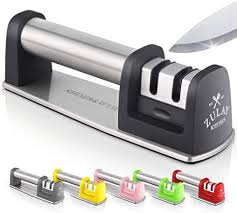 Zulay Premium Quality Knife Sharpener for Straight ... - Amazon.com
