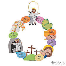Wee Little Miracles Make An Easter Story Wreath