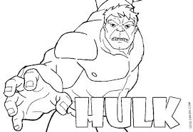 Hulk Green Monster Coloring Page Free Hulk Coloring Pages Coloring