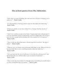 "the alchemist quotes the 12 best quotes from the alchemist ""and when you want something ""what is"