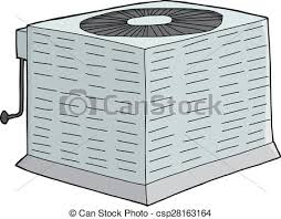 central air conditioner clipart. Exellent Air Isolated Metal AC Unit  Csp28163164 For Central Air Conditioner Clipart O