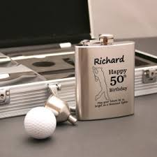 executive indoor personalised golf gift set