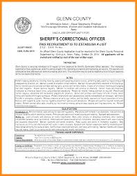 Correctional Officer Job Description Resume Resume For Correctional Officer Resume For Study 87
