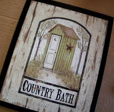 Image Bathroom Ideas Outhouse Green Primitive Country Bath Bathroom 9x11 In Sign Free Shipping Etsy Wants Needs Pinterest Primitive Bathrooms Country Baths And Pinterest Outhouse Green Primitive Country Bath Bathroom 9x11 In Sign Free