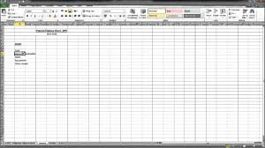 Projected Balance Sheet In Excel Create A Projected Balance Sheet Business Plan Series