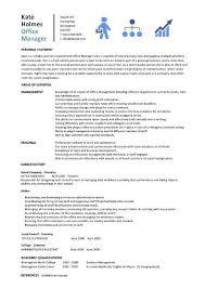 Office Manager Resume Template Custom Office Manager Resume Resume Badak