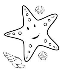 Small Picture starfish coloring pages for kids 29 funnycrafts