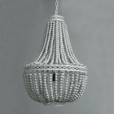 beaded chandelier pendant light vintage retro white wooden bead pendant lights loft lamp with led bulbs house of horrors 13 kids