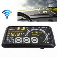 [EUR32.22] [GBP25.32] <b>W02</b> Bluetooth <b>5.5 inch</b> Car OBD II HUD ...