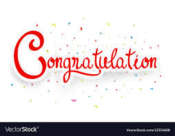 Congratulations Design Congratulations Celebration Design