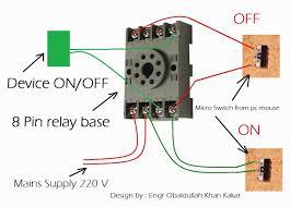 outstanding 8 pin relay wiring diagram diagrams base ice cube 24v relay wiring diagram at 8 Pin Relay Wiring Diagram