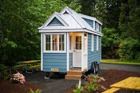 tiny houses. Zoe-tiny-house-village-cypress-tumbleweed-mount-hood- Tiny Houses