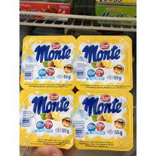 Combo 2 vỉ Váng sữa Monte Vani cho bé vỉ 4 hộp