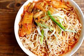 healthy homemade kimchi ramen healthy homemade kimchi ramen recipe 001