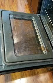 clean your oven door windows