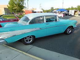 classic car on a car show