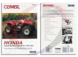 2011 honda recon 250 wiring diagram 2011 discover your wiring 19972011 honda trx250 recon repair manual clymer m4464 service